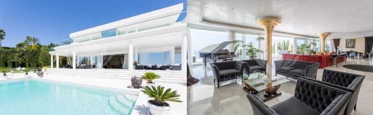 Modern villas on Marbella's Golden Mile