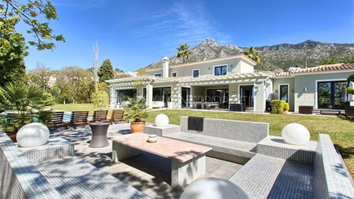 Luxury and tranquillity in the Marbella Hill Club