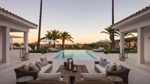 Luxury Marbella: beach, golf and country club