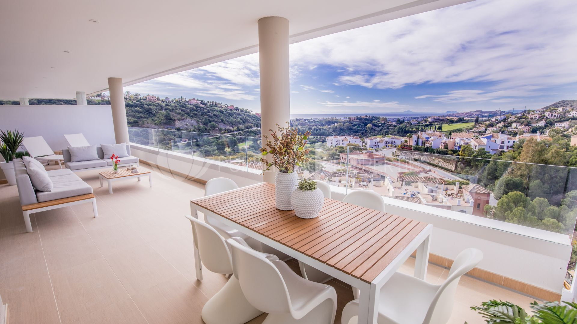 Luxury penthouse living in Marbella