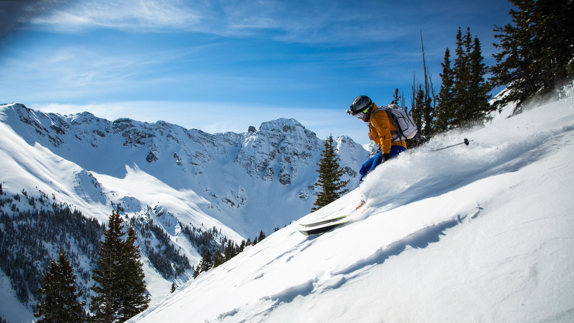 An unexpected combination: skiing in Marbella